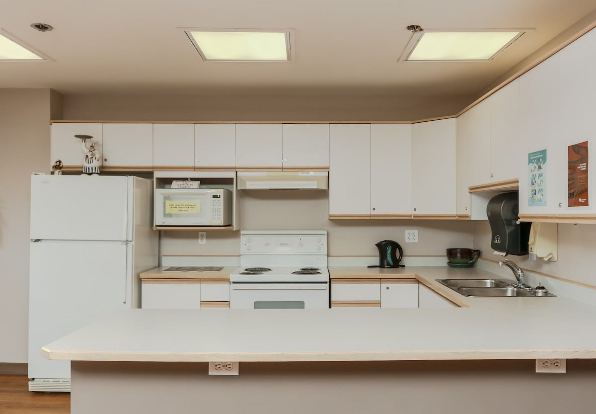 Kitchen in common area