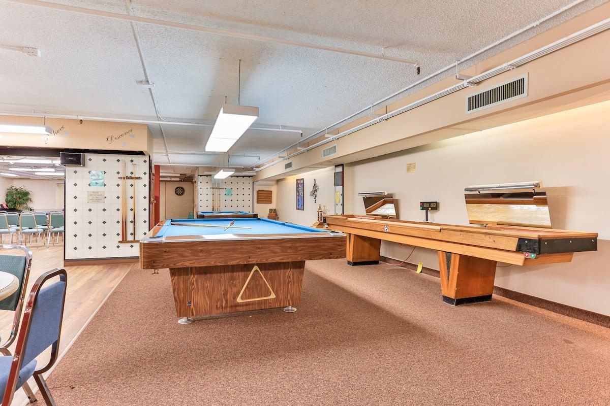 Recreational activity room