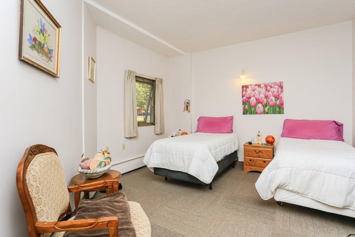 Two bedroom suite bedroom 1