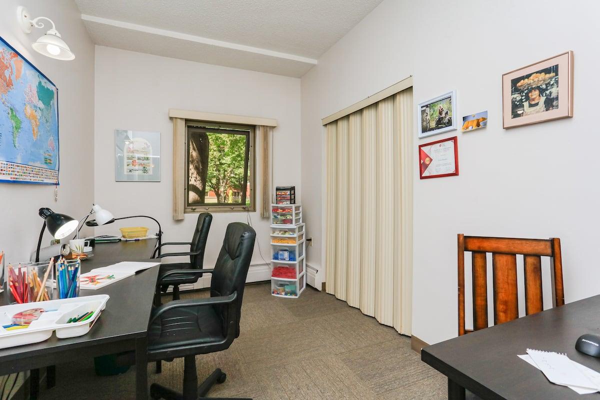 Two bedroom suite office bedroom 2