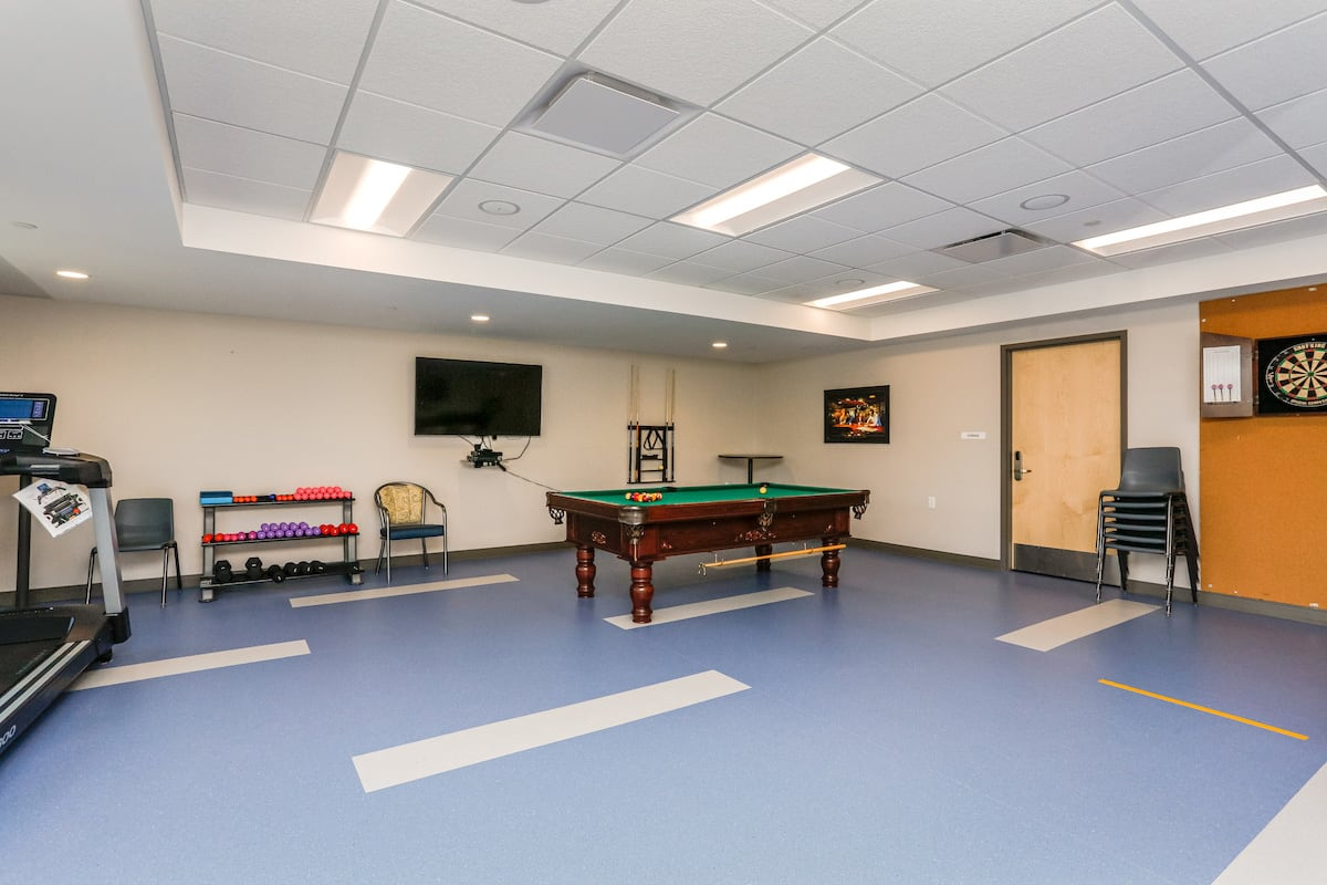 Exercise and activity room