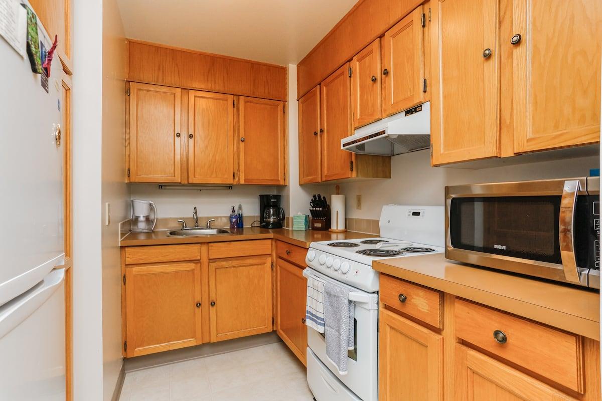 One bedroom suite (example 2) kitchen
